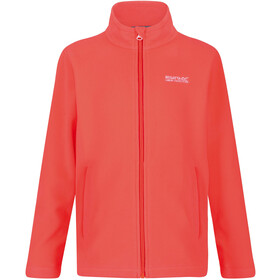 Regatta King II Fleece Jas Kinderen, fiery coral